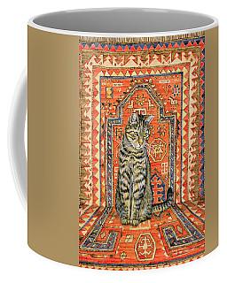 The Carpet Cat Coffee Mug
