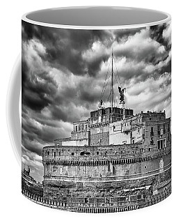 The Castle Of Sant'angelo In Rome Coffee Mug