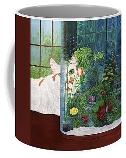 The Cat Aquatic Coffee Mug