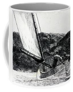 The Cat Boat Coffee Mug