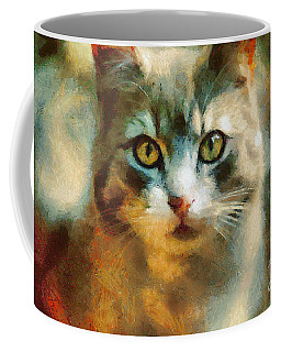 The Cat Eyes Coffee Mug