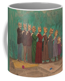 The Cat Family Portrait 1891  Coffee Mug
