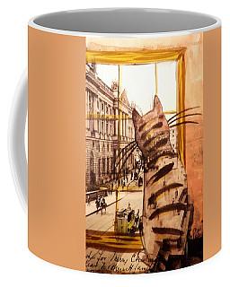 The Cat Who Saw Everything Coffee Mug