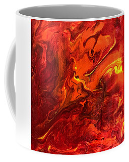 Coffee Mug featuring the painting Chimera by Robbie Masso