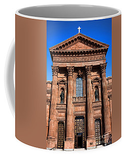 The Cathedral Basilica Of Saints Peter And Paul Coffee Mug