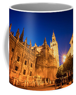 The Cathedral Of Seville Coffee Mug