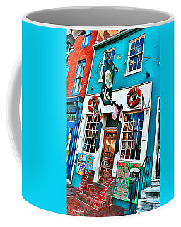 The Cat's Eye Pub Coffee Mug
