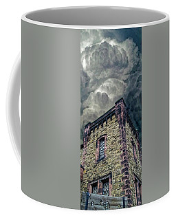 Coffee Mug featuring the photograph The Cell Block Restaurant by Greg Reed