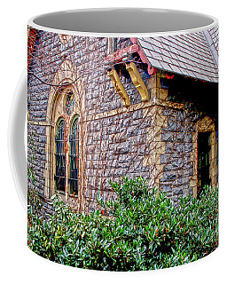 Coffee Mug featuring the photograph Central Park Dairy Cottage by Sandy Moulder