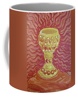 Coffee Mug featuring the painting The Chalice Or Holy Grail by Michele Myers