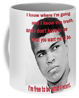 The Champ Muhammad Ali  Coffee Mug