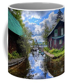 Coffee Mug featuring the photograph The Channel At Palmer Point by David Patterson
