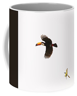 Coffee Mug featuring the photograph The Chase by Alex Lapidus