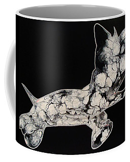 The Chase Bw Coffee Mug