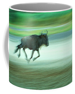 Coffee Mug featuring the photograph The Chase by Scott Kemper