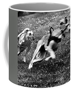 The Chasing Game. Ava Loves Being Coffee Mug