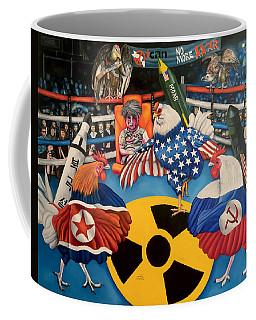 The Chickens Fight Coffee Mug