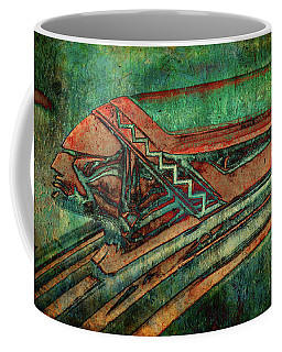 Coffee Mug featuring the digital art The Chief by Greg Sharpe