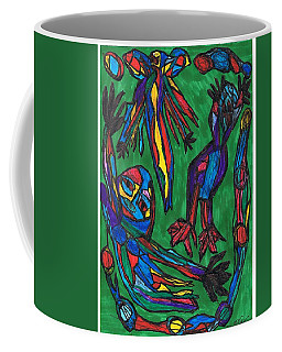 The Choice Of Transformation Angelic Or  Demonic Coffee Mug