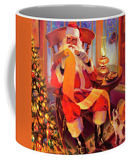 The Christmas List Coffee Mug