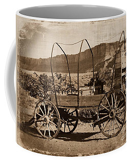 The Chuckwagon Coffee Mug by Sheila Ping