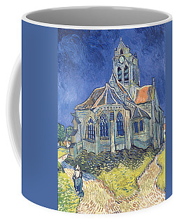 The Church At Auvers Sur Oise Coffee Mug