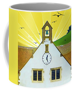 Coffee Mug featuring the photograph The Church Bell by LemonArt Photography