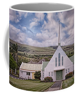 Coffee Mug featuring the photograph The Church by Jim Thompson
