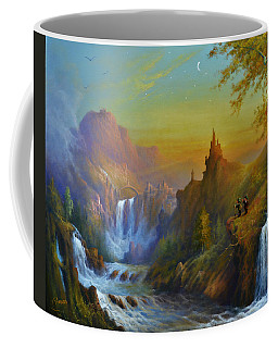 The Citadel Under The Moon Coffee Mug