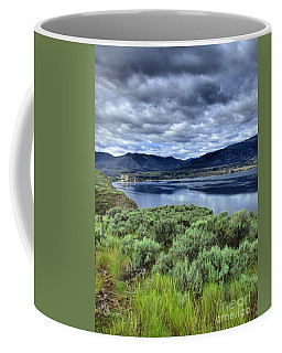 The City And The Clouds Coffee Mug