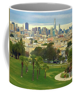 The City From Dolores Park Coffee Mug