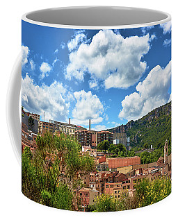 Coffee Mug featuring the photograph The City Of Tarragona And A Beautiful Sky by Eduardo Jose Accorinti