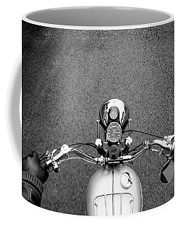 The Classic Motorcycle Rider Coffee Mug
