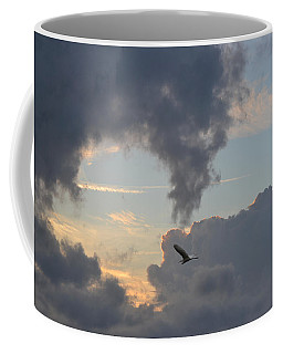 The Clear Passage Through Clouds Coffee Mug