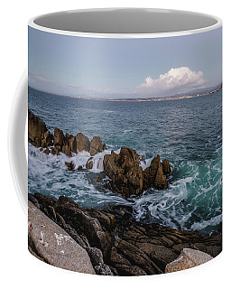 The Coast At Dusk Coffee Mug