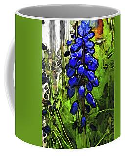 The Cobalt Blue Flowers And The Long Green Grass Coffee Mug