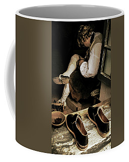 The Cobblers Window Coffee Mug by Bruce Carpenter