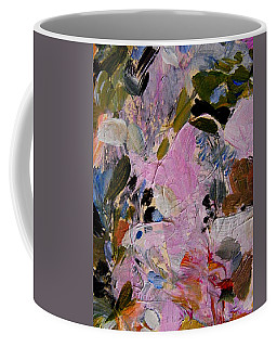 Coffee Mug featuring the painting The Color Garden by Nancy Kane Chapman