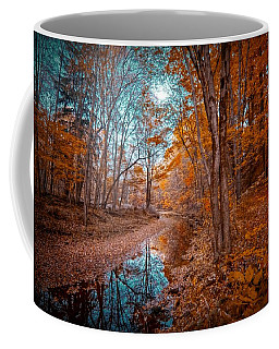 The Color Of Fall Coffee Mug