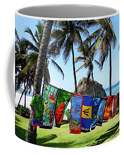 Coffee Mug featuring the photograph The Colors Of Barbados by Kurt Van Wagner