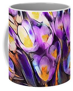 The Colors Of Crocus Coffee Mug