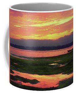 The Colors Of Ship Creek Coffee Mug