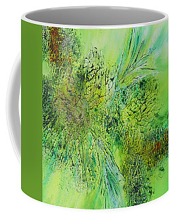 Abstract Art - The Colors Of Spring Coffee Mug