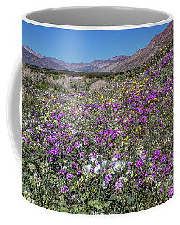 The Colors Of Spring Super Bloom 2017 Coffee Mug by Peter Tellone