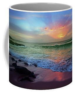 Coffee Mug featuring the photograph The Colour Before The Darkness by Tara Turner