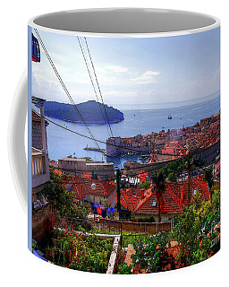 The Colourful City Of Dubrovnik Coffee Mug