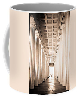 The Columns At Soldier Field Coffee Mug