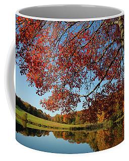 The Comfort Of Autumn Coffee Mug by Karol Livote