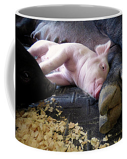 Coffee Mug featuring the photograph The Comfort Of Mom by Robert Geary