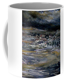 Coffee Mug featuring the painting The Coming Storm by Nancy Kane Chapman